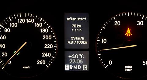 Mercedes-Benz C 270 CDI Sudrabs, Mercedes Benz C 270 CDI degvielas patēriņš 4,8l/100km