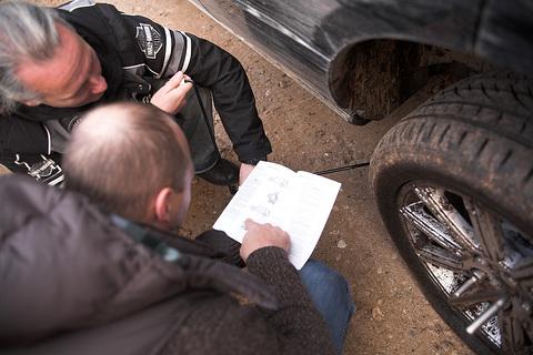 Rudens 4x4 bezceļu brauciens Sēlija 2010