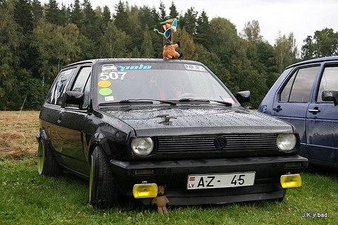 VW katafalk 86c, atkal krāsojam