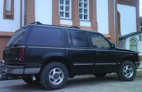 Ford XLT 4x4 V6, Apskate