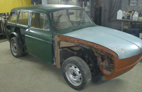 VW Type3 Squareback, Bleķu darbi (beidzot) pabeigti