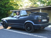 VW Golf MK1 Cabrio, 1992