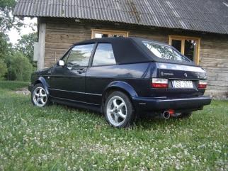 VW MK1 Cabrio , 1992