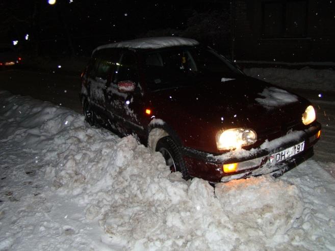 VW Golf mk3 VR6, 1993