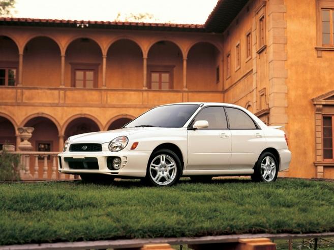 Subaru Impreza WRX, 2003
