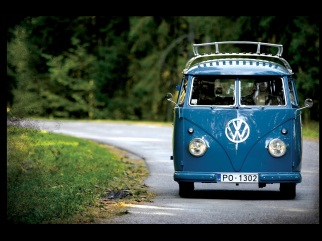VW T1 mr.california, 1958