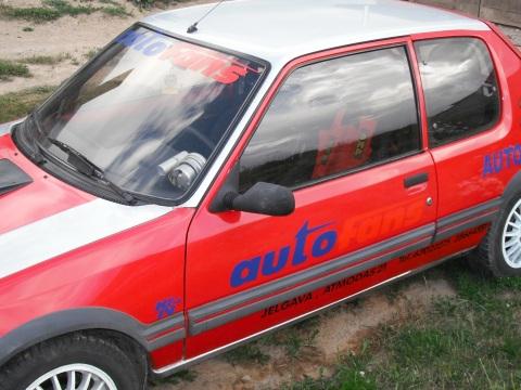Peugeot GTI, auto uzlimes