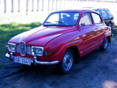 SAAB 96 V4 sport, 1971