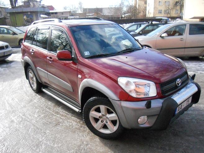 Toyota RAV 4 2.0 VVT-i Luxury, 2005