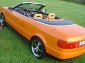 Audi Cabriolet Electric Orange, 1902