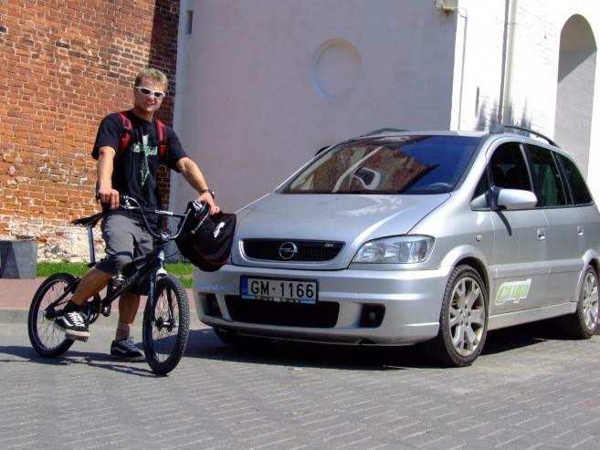 Opel Zafira OPC A, 2002