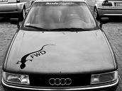 Audi 90 Competision, 1987