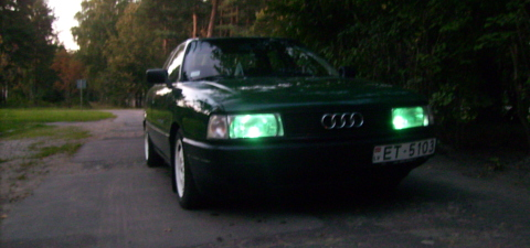 Audi 80 , Зелёноглазый