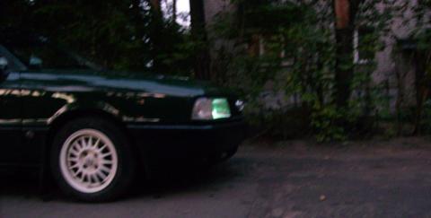 Audi , Зелёноглазый