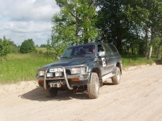Toyota 4-Runner ofroders, 1993