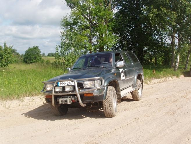 Toyota 4-Runner ofroders, 1993