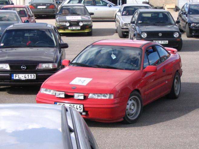 Opel Calibra 2.0 16V, 1991