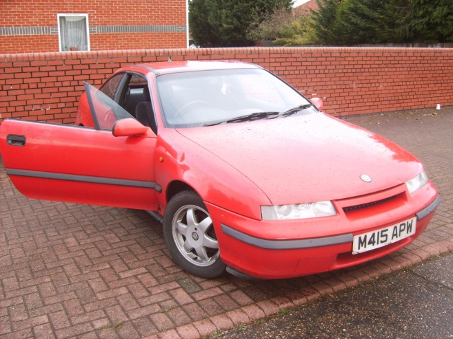 Opel Calibra - Vauxhal Calibra, 1995