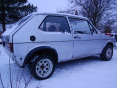 VW Golf mk1 gti, 1982