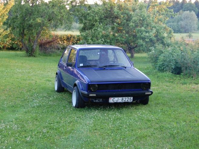 VW Golf mk1, 1982