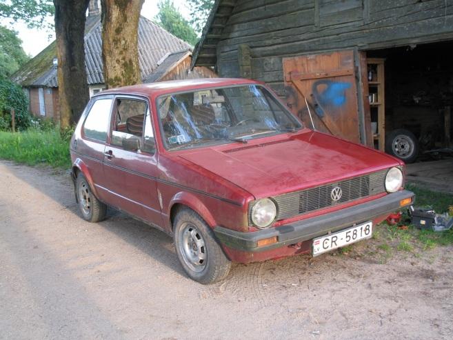 VW Golf mk1 diesel, 1982