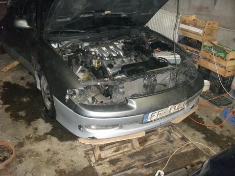 Mazda , Prieksheejaa bampera izveide