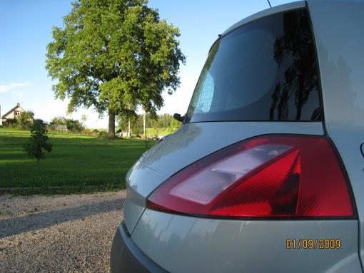 Renault Megane Luxe Privilege, 2003
