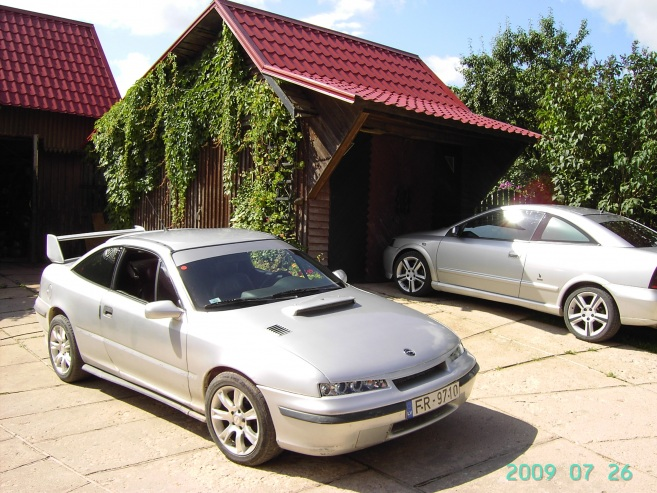 Opel Calibra Turbo 4x4, 1993