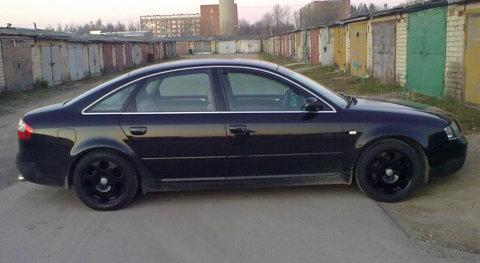 Audi A6 Black Pearl, Eksperiments ar ziemas diskiem :)