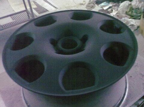 Audi Black Pearl, Eksperiments ar ziemas diskiem :)