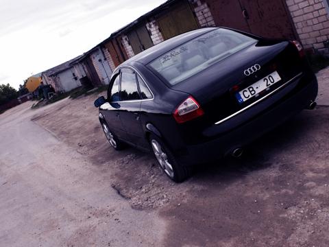Audi A6 Black Pearl, Šildes..