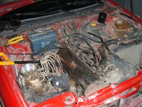 Audi , Kolektora mazgāšana