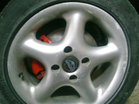 Audi , Bremžu diski