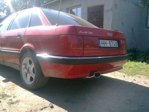 Audi , Izpūtējs
