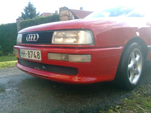 Audi 90 , S2 bamperis