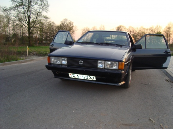 VW Scirocco Šuriks, 1991