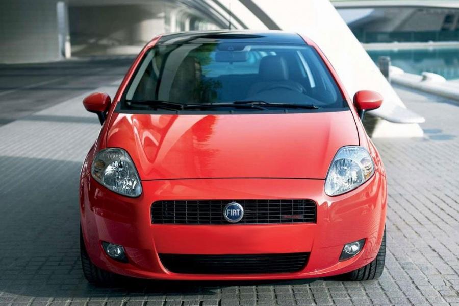 Atjaunināts hečbeks FIAT Grande Punto